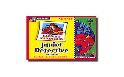 Carmen Sandiego: Junior Detective Edition - game cover