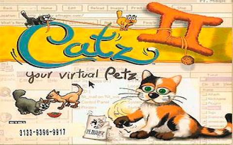 Catz II: Your Virtual Petz - title cover