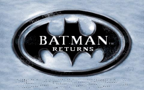 Batman Returns - title cover
