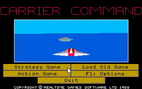 Carrier Commands - title cover