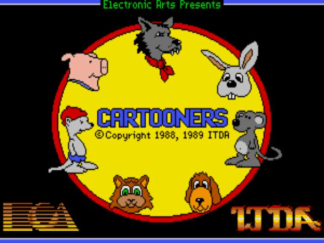 Cartooners - title cover