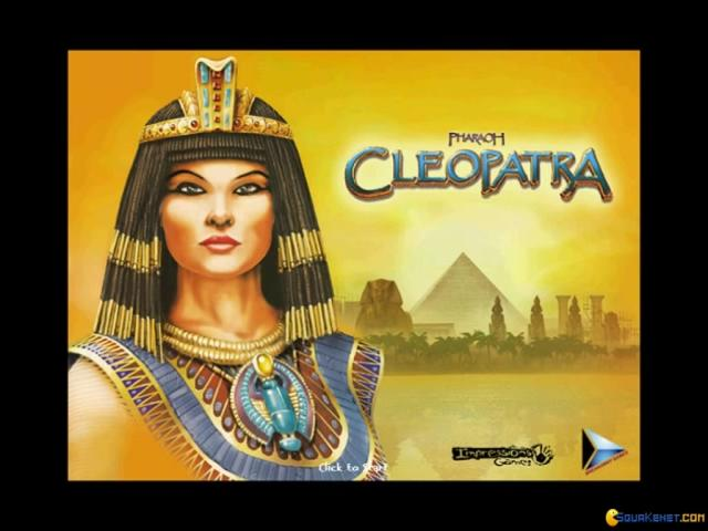 Cleopatra: Queen of the Nile - title cover
