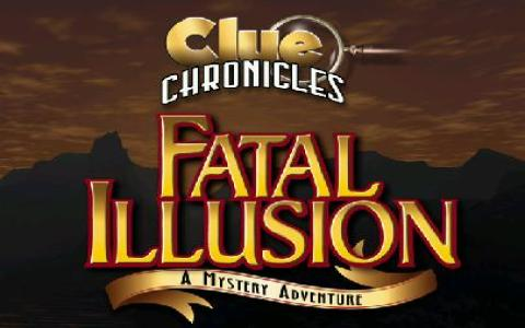 Clue Chronicles: Fatal Illusion - game cover