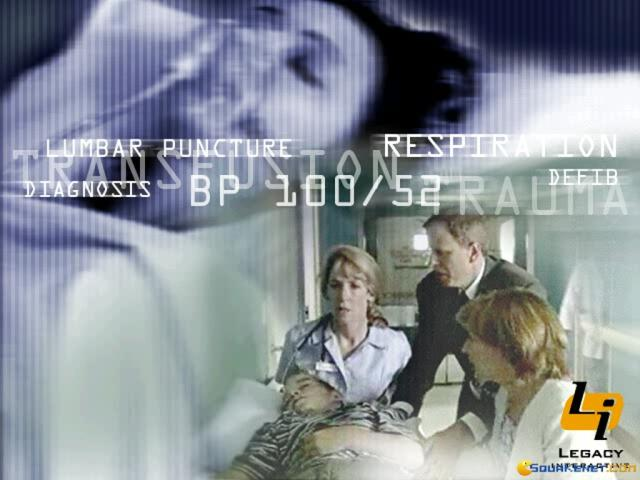 Emergency Room: Code Blue - title cover