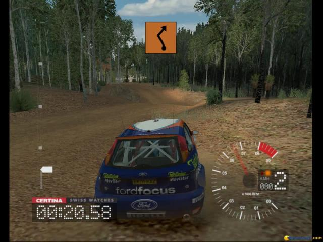 Colin McRae Rally 3 - game cover