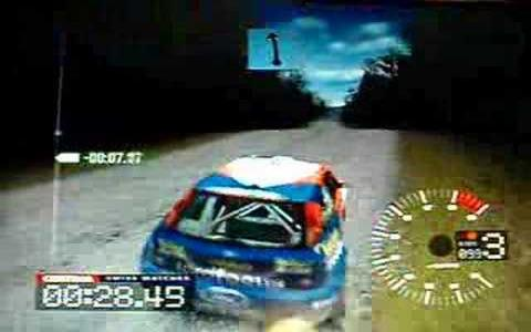 Colin McRae Rally 3 - title cover