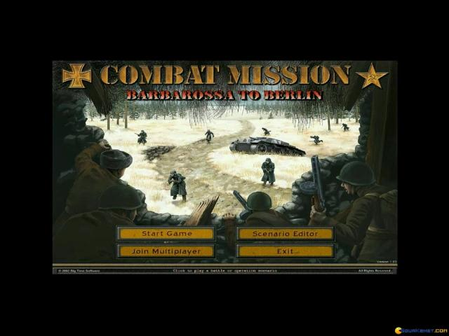 Combat Mission 2: Barbarossa to Berlin - title cover