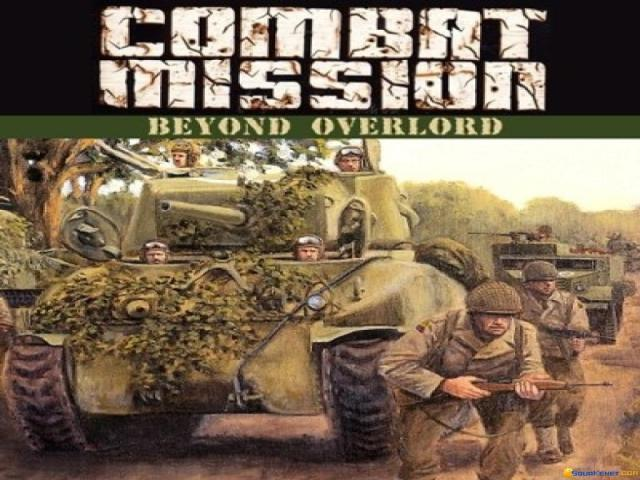 Combat Mission: Beyond Overlord - title cover