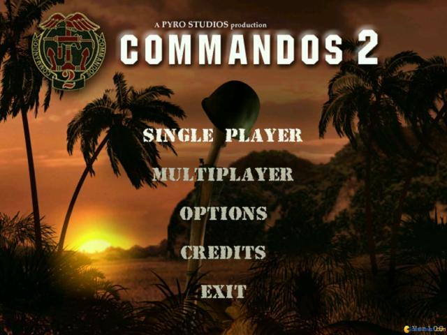 Commandos 2: Men of Courage - title cover