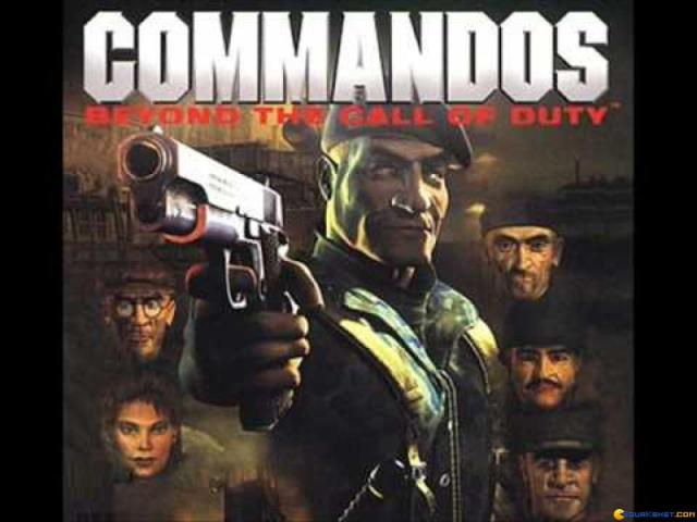 Commandos: Beyond the Call of Duty - title cover