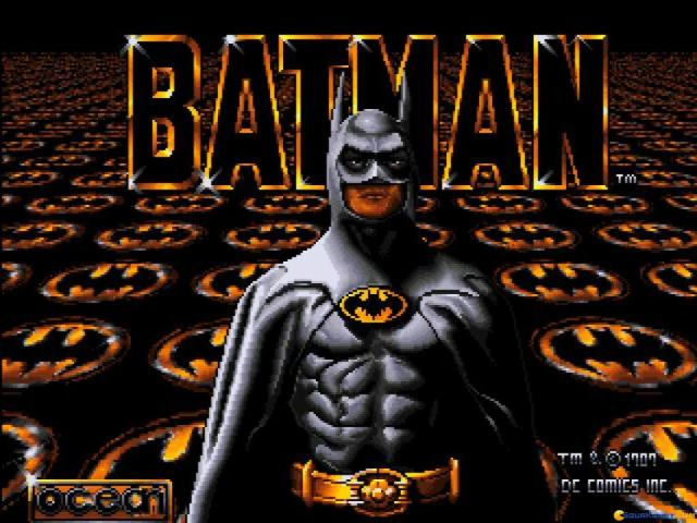 Batman the Movie - game cover