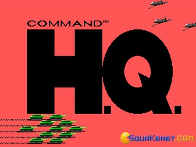 Command H.Q. - title cover