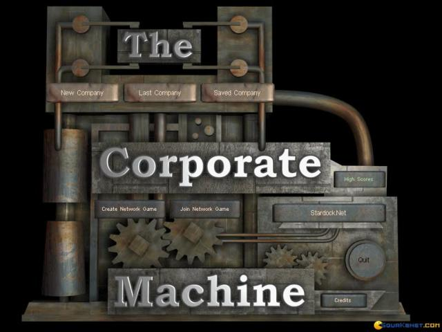 The Corporate Machine - game cover