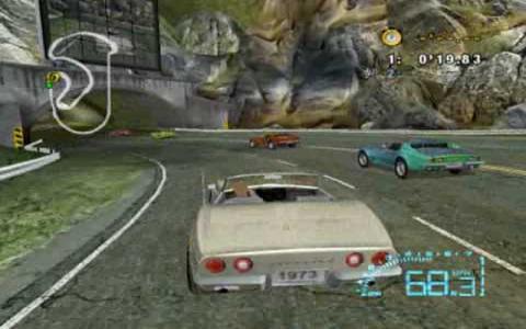 Corvette - game cover