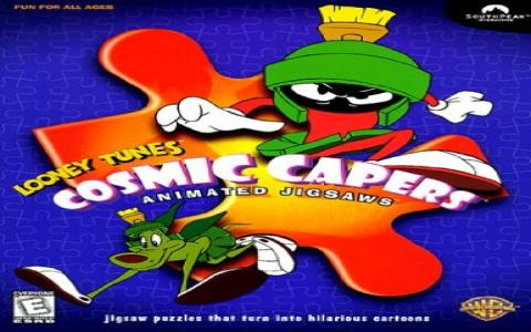 Cosmic Capers - game cover