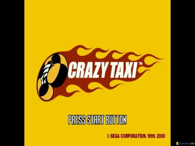 Crazy Taxi - title cover