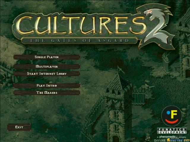 Cultures 2: The Gates of Asgard - game cover