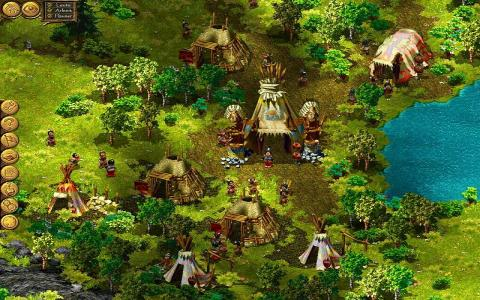 Cultures: Die Rache des Regengottes - game cover