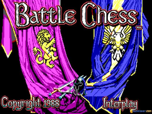 Battle Chess - title cover