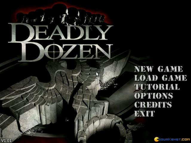 Deadly Dozen - title cover