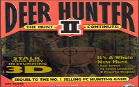 Deer Hunter 2: The Hunt Continues - title cover