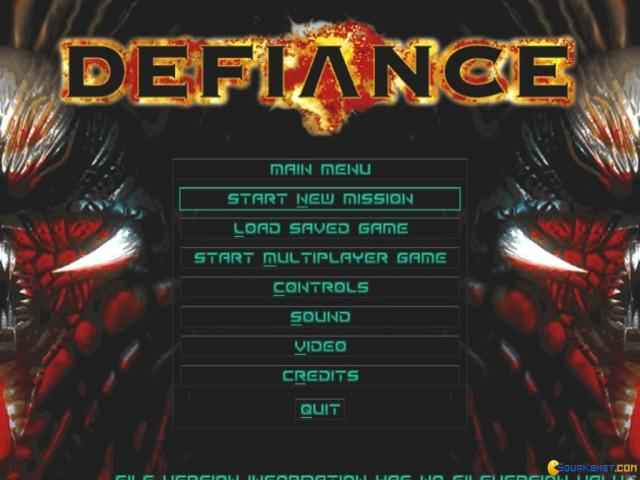 Defiance - game cover