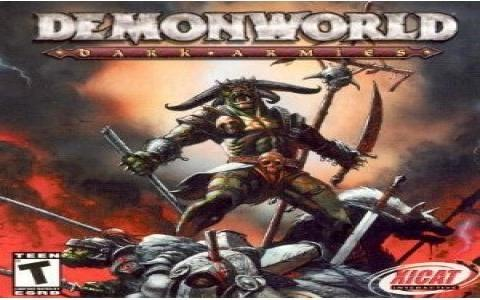 Demonworld: Dark Armies - title cover