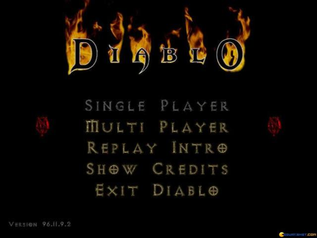 Diablo - game cover