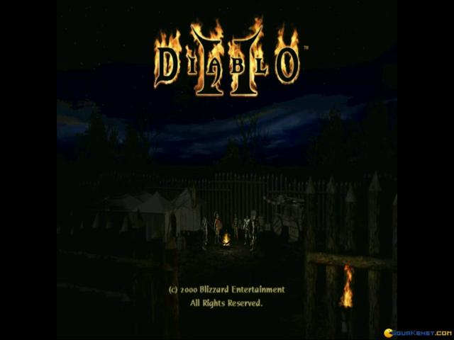 Diablo II - game cover