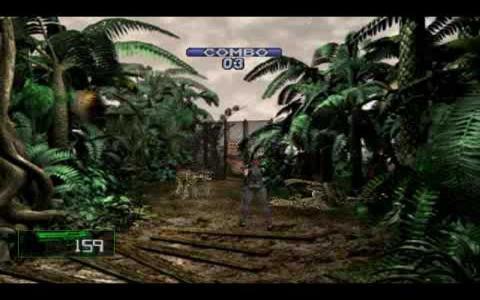 Dino Crisis 2 - title cover