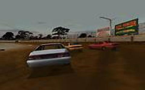 Dirt Track Racing - game cover
