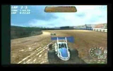 Dirt Track Racing: Sprint Cars - game cover