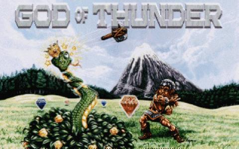 God of Thunder - title cover