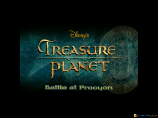 Treasure Planet: Battle at Procyon - title cover