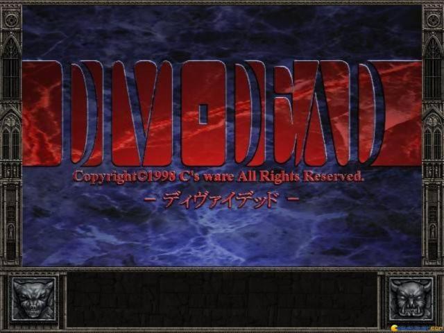 Divi-Dead - title cover