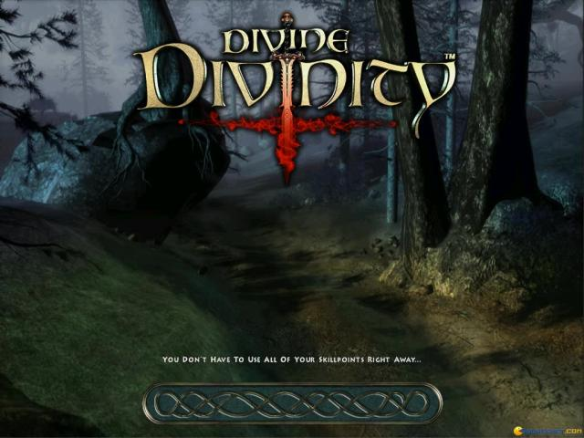 Divine Divinity - title cover