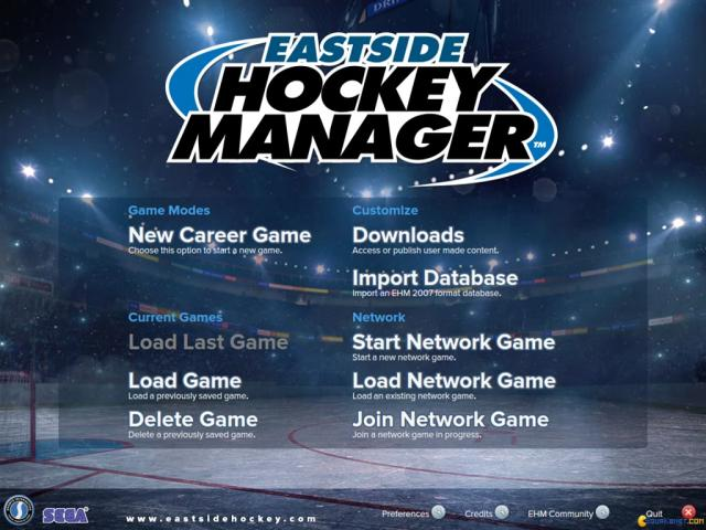 Eastside Hockey Manager - game cover