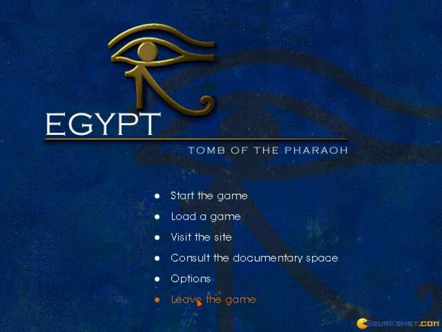 Egypt 1156 B.C.: Tomb of the Pharaoh - title cover