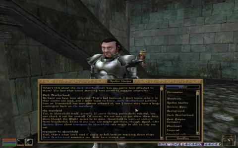 The Elder Scrolls III: Tribunal - title cover