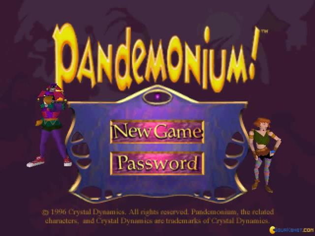 Pandemonium - game cover
