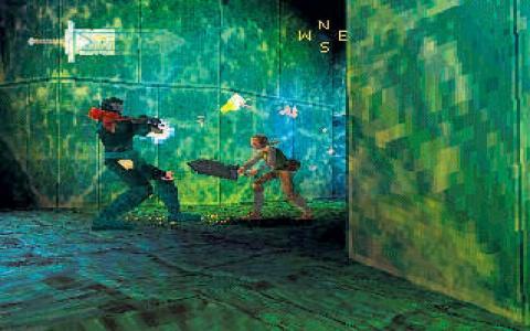Excalibur 2555 AD - game cover