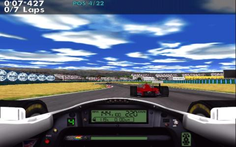 F1 Racing Simulation - game cover