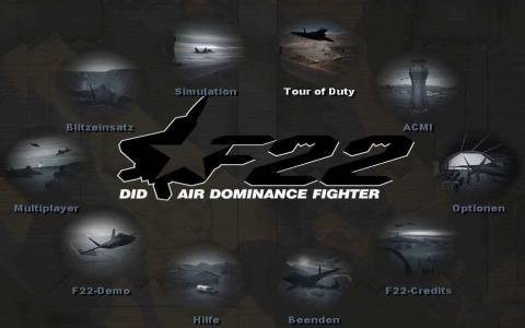 F-22 Air Dominance Fighter - title cover