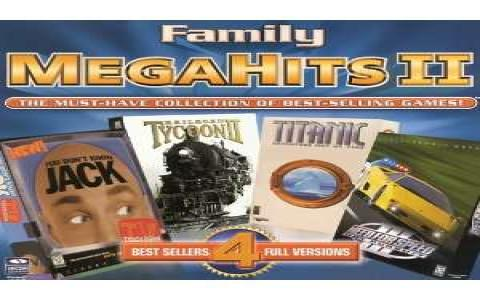 Family MegaHits II - title cover