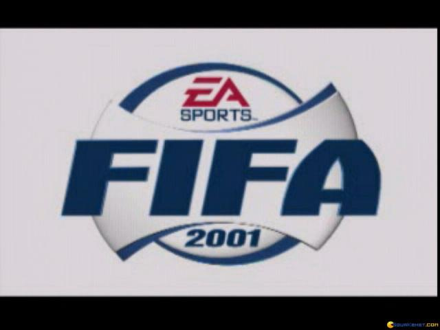 FIFA 2001 - title cover