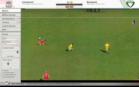FIFA Manager 06 - game cover