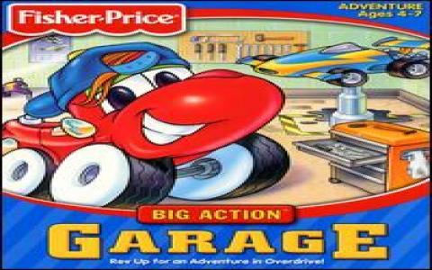 Fisher-Price: Big Action Garage - game cover