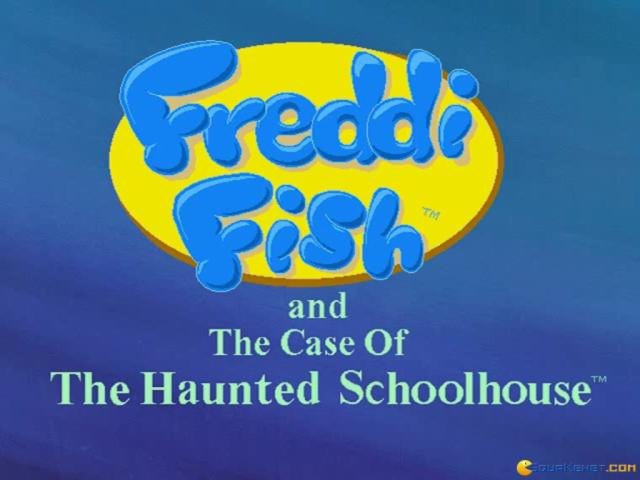 Freddi Fish 2: The Case of the Haunted School House - title cover