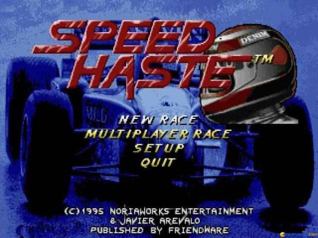 Speed Haste - game cover