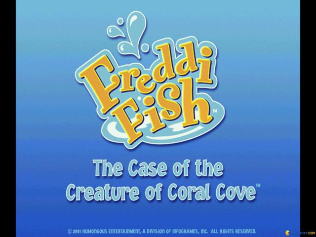 Freddi Fish 5: The Case of the Creature of Coral Cove - title cover